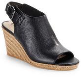 Via Spiga Open Toe Espadrilles Wedge Sandals