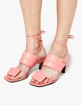 Marni Sandal Shoe in Camellia