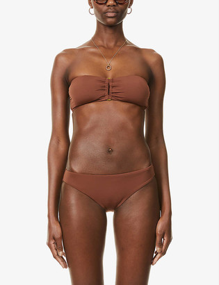 Seafolly Active Swim bandeau bikini top