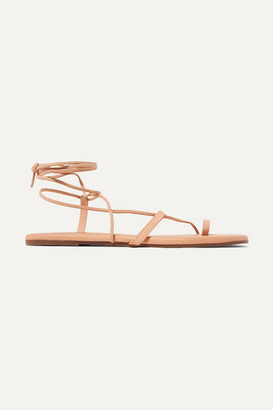 TKEES Jo Leather Sandals - Neutral
