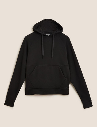 Marks and Spencer Pure Cotton Oversized Hoodie