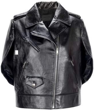 Prada Leather Cape
