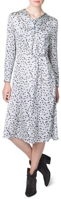 Skin and Threads Cowl Neck Print Dress