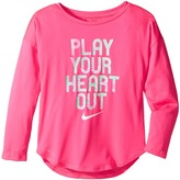 Nike Play Your Heart Out Long Sleeve Tee (Little Kids)