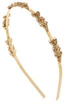 Oscar de la Renta Ornate Charm Headband