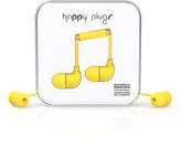 Happy Plugs Yellow Earbuds