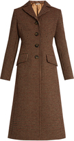 Miu Miu Single-breasted tweed coat