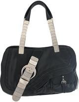 Christian Dior Gaucho Black Leather Handbags