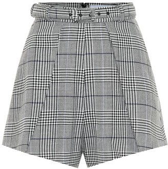 Self-Portrait Checked shorts