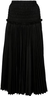 KHAITE high waisted skirt