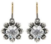 Bottega Veneta Embellised Silver Earrings