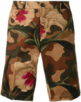 Moncler floral camouflage shorts - men - Cotton - 50