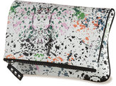 Splatter- Fold Over Clutch