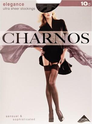 Charnos Women's 1PP 10 Denier Elegance Ultra Sheer Stockings Hold 10 DEN