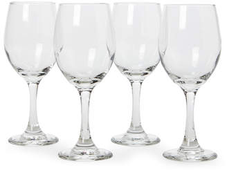 Libbey Set of 4 Madison White Wine Glasses