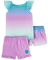 The Childrens Place Baby Girls Spring to Summer 4-Piece Pajama Set