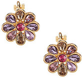 Carolee Spring Bouquet Clip-On Stud Earrings