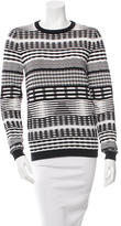 Opening Ceremony Patterned Knit Sweater