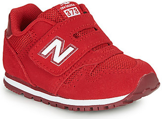 New Balance 373 girls's Shoes (Trainers) in Red