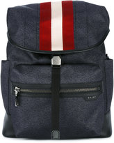 Bally printed Tenzing backpack - men - Leather/Nylon - One Size