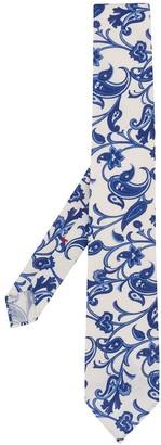 Dell'oglio Paisley-Pattern Tie