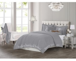Juicy Couture Gothic Comforter Set, 3-Piece King Bedding