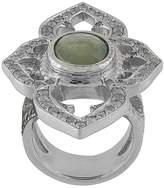 Loree Rodkin 18kt white gold, diamond and sapphire Umba ring