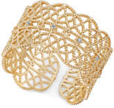 INC International Concepts I.N.C. Crystal-Studded Filigree Ring, Created for Macy's