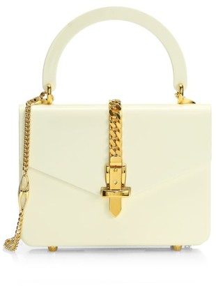 Gucci Sylvie Plexiglas Mini Top Handle Bag