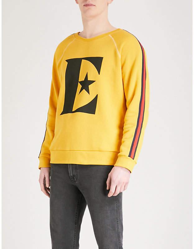 Gucci Elton cotton-jersey sweatshirt