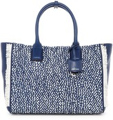 Cole Haan Ziva Woven Leather Tote