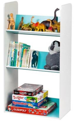IRIS USA 3-Tier Tilted Kids Bookshelf, Pink or Blue