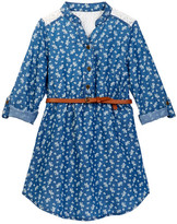 My Michelle mymichelle Denim Dress (Big Girls)