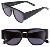 Karen Walker Women's X Monumental Buzz 53Mm Sunglasses - Black