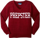 Andy & Evan Intarsia Sweater (Toddler/Kid) - Prepster Red - 3T