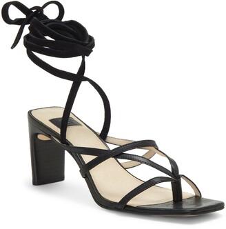 Louise et Cie Lehana Wraparound Ankle Strap Sandal