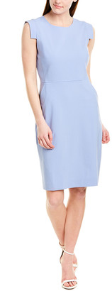 J.Crew Resume Wool-Blend Sheath Dress