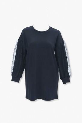 Forever 21 Plus Size Sweatshirt Dress