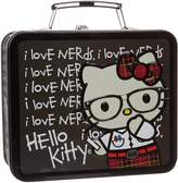 Hello Kitty Lunch Box Nerd with Chalkboard Metal Tin Case New sanlb0022