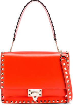 Valentino Rockstud Shoulder Bag in Goldfish | FWRD