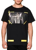 Off-White Graphic Short-Sleeve T-Shirt, Black