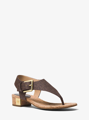 Michael Kors London Logo Sandal