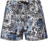 Burberry British Seaside print swim shorts - men - Polyamide/Polyester - M