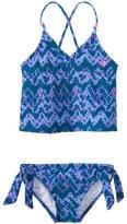 Roxy Girls' Summer Escape Tankini Swimsuit Set (716) - 8145126