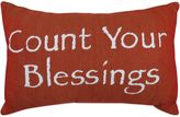 """B. Smith The Vintage House by Park Blessings"""" Tapestry Oblong Throw Pillow"""