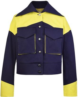 Blonde Gone Rogue Rejoice Sustainable Jacket Navy