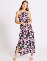 Marks and Spencer Floral Beaded Midi Dress