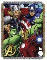 Marvel Avengers Woven Tapestry Throw Blanket
