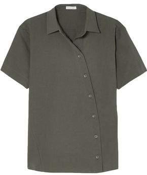 Tomas Maier Cotton-blend Poplin Shirt
