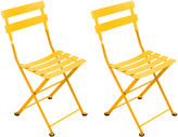 Fermob Honey Tom Pouce Kids' Chairs, Pair
